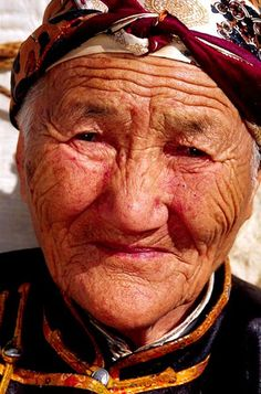 amazing faces | mongolia | woman