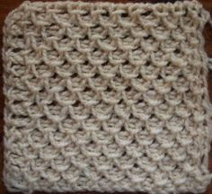 Fancy Stitch (smocking)   Victorian Tunisian crochet stitch pattern. Must try~
