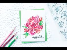 "Check out this video tutorial on how to create a one layer card using the Amazing You Stamp Set and colored pencils. <a href=""http://www.altenew.com"" rel=""nofollow"" target=""_blank"">www.altenew.com</a>"