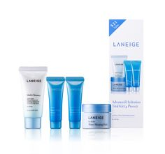 This just in! Our Hydration Trial Kit is now available at Target.com: http://bit.ly/LANEIGEhydrationkit – grab these travel-sized LANEIGE essentials for your next weekend trip!