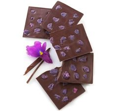 Sucre-A Sweet Boutique.... this is their Candied Violet Chocolate, my favorite!