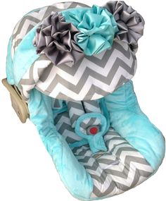 Baby Gabby Infant Carseat Cover - Luxury Baby Nursery