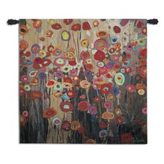 Parade Wall Tapestry - 52W x 52H in. - 6883-WH