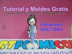 Mostrando fofupluma Doctora con moldes artfoamicol.JPG