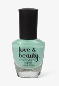Honeydew Nail Polish #Forever21 #DestinationVacation #SweetEscape