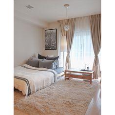 Bedroom/照明/カーテン/photo/モノトーン/ホワイトインテリア...などのインテリア実例 - 2017-09-09 12:26:10 | RoomClip (ルームクリップ)