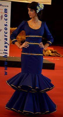 Vestido mujer flamenca