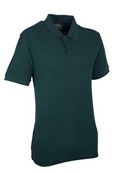 9f5939d4a Mens Gull Pique Polo Shirt Green Small box57 07 F  fashion  clothes  shoes