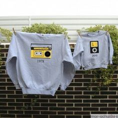 Camisetas padre hijo