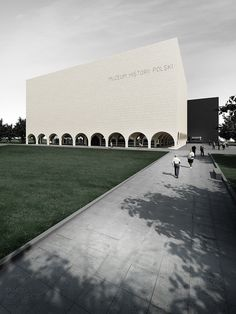 Concept for Museum of Polish History, Warsaw by Tamizo Architects