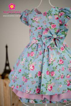Fashion Kids, Little Girl Dresses, Girls Dresses, Cotton Frocks, Kids Dress Patterns, Baby Couture, Kids Frocks, Zen, Toddler Dress