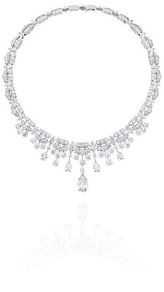 De Beers Frost Diamond Necklace