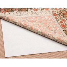 Area Rug On Carpet A Rug to Carpet Pad Is Must Prevents The