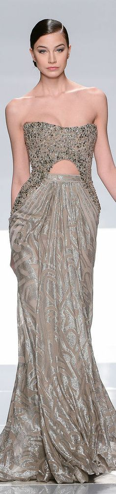 Evening gown, couture, evening dresses, formal and elegant Tony Ward Couture - Summer 2013 Collection