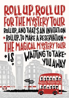 Magical Mystery Tour  -  The Beatles     (by Nour Tohme)