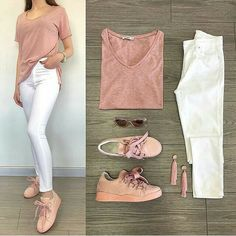 [New] The 10 Best Outfit Ideas Today (with Pictures) - Simple and beautiful Mode Outfits, Chic Outfits, Spring Outfits, Trendy Outfits, Fashion Wear, Look Fashion, Fashion Outfits, Womens Fashion, College Outfits