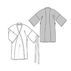 must make this kimono-like robe
