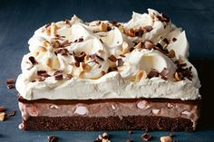 This is perfect to make ahead when entertaining a crowd. Just top with the cream before serving.