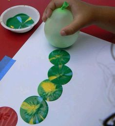 Another cute kids activity to do at a Very Hungry caterpillar party!