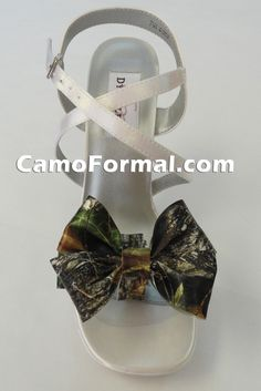 Camo Heels for Prom | Camouflage Shoes and Clips Camouflage Prom Wedding Homecoming Formals