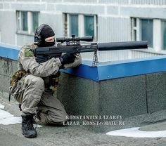 Spetsnaz FSB operator with the big ass VKS Sniper rifle.  Спецназ ФСБ вместе с ВКС ВЫХЛОП. 〰〰〰〰〰〰〰〰〰〰〰 Фото/photo via Konstantin Lazarev. ◾◾◾◾◾◾◾◾◾◾◾ Join the family @globalcombat @european.warfare @military.inst @russia_19the91_motherland @indian_armed_forces @world_of_armies @french_tactical  @serbian_specialforces @dutch_patriot