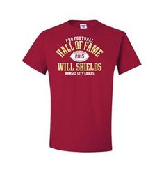 Will Shields Class of 2015 Elected T-Shirt. Click to order! #PFHOF15