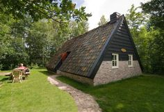 'd Olde Kamp plaggenhutten, Ruinen, Drenthe