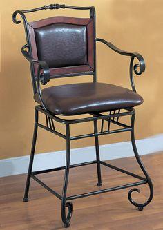 Dark Gold Metal 24 Inch Counter Bar Stool by Coaster  http://www.ubuyfurniture.com/dark-gold-metal-24-bar-stool-coaster-100160.html  #furniture #barstool #business