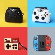 Airpods Pro Console Silicone Case - Nintendo Switch Case For Airpods Pro Nintendo Switch Case, Accessoires Iphone, Xbox Controller, Earphone Case, Cute Games, Air Pods, Airpods Pro, Airpod Case, Console