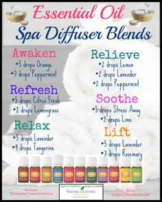 Spa Diffuser Blends