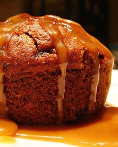 Low FODMAP Recipe and Gluten Free Recipe - Maple syrup sticky pudding http://www.ibssano.com/low_fodmap_desserts_maple_syrup_sticky_pudding.html