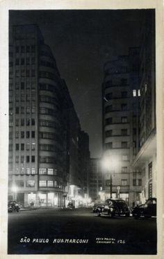 1950 - Rua Marconi a Noite - FPC - DCP