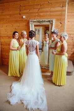 Styal Lodge Wedding Photographer #bridesmaids #bride
