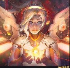 #mercy, #overwatch, #gamer, #xbox1
