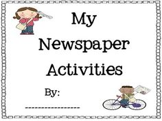 Cute Newspaper Activities packet