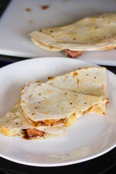 BBQ Hawaiian Quesadillas : Kendra's Treats