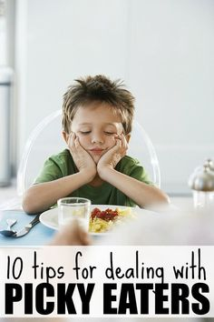 If you're sick and tired of begging and pleading with your kids to eat something other than chicken nuggets and peanut butter sandwiches, these simple and effective tips for dealing with picky eaters will be a lifesaver for you!