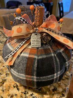 Dollar Tree Pumpkins, Dollar Tree Decor, Dollar Tree Crafts, Halloween Home Decor, Fall Halloween, Halloween Crafts, Fabric Pumpkins, Fall Pumpkins, Fall Crafts