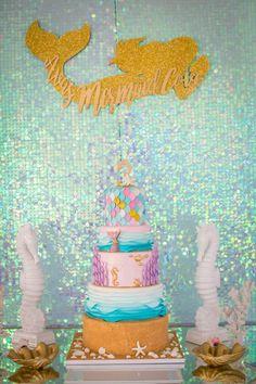 Mermaid Birthday Party on Kara's Party Ideas   KarasPartyIdeas.com (36)