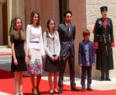 queen rania family