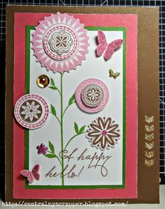 Crafting for sanity? Or insanity?: A Happy Hello February 2015 SOTM Blog Hop #ArtPhilosophy #Puffies
