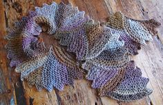 Ravelry: Wave Length Scarf pattern by Signatur Handknits Jane Slicer-Smith