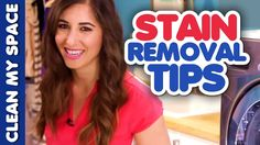 Stain Removal Tips! (Clean My Space & OxiClean)