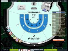 Zero Baccarat - Follow The Winner Betting Strategy