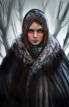 ❝Swift as a deer. Quiet as a shadow. Fear cuts deeper than swords. Quick as a snake. Calm as still water.❞ Arya Stark,