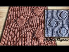 Semi-patented rhombuses – spiders – YouTu … – The Best Ideas Knitting Videos, Knitting Stitches, Knitting Designs, Baby Knitting, Knitting Patterns, Crochet Patterns, Crochet Slippers, Knit Crochet, How To Purl Knit