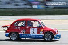 Fiat-Abarth 1000 TC (1973) an der Historic Trophy Nürburgring 2015 - Kampf der Zwerge.  © FabPetersson Fotografie für Zwischengas