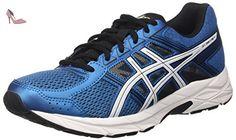 Asics Gel-Zaraca 4, Chaussures de Running Compétition Homme - Noir (Carbon/Silver/Hot Orange 9793), 44 EU