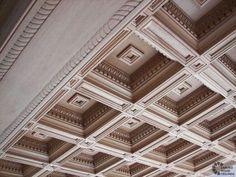 Classic Wood Paneling Ceiling #basementceilingideaspinterest