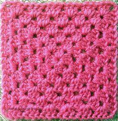 Basic Granny Square: FREE Easy Peasy Crochet Pattern ~ Kiss Granny ~ Baking Outside the Box